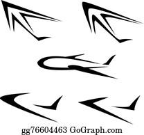 Jet Aircraft Clip Art Royalty Free Gograph