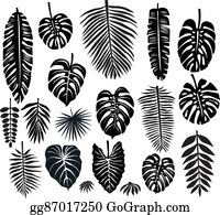 Tropical Leaves Clip Art Royalty Free Gograph Feel free to download, share and use them! tropical leaves clip art royalty free