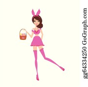 Sexy Easter Bunny Clip Art Royalty Free Gograph