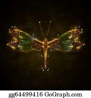 Black Dragon Wings Cartoon - Royalty Free - GoGraph