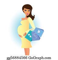 f37a6f6d9d9 Pregnant Woman Clip Art - Royalty Free - GoGraph