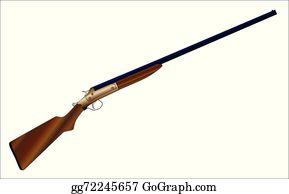Shotgun Clip Art - Royalty Free - GoGraph