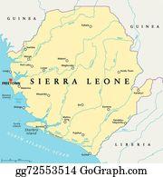 india political map sierra leone political map