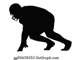 Football Player Clip Art - Royalty Free - GoGraph