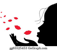 Blow Kiss Clip Art Royalty Free Gograph