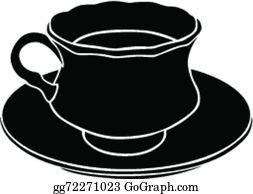 vector clipart high tea cup vector illustration gg59677265 gograph