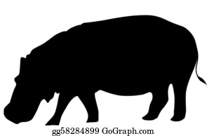 Hippo Clipart - Hippopotamus Clipart - Flash Card Of Hippopotamus , Free  Transparent Clipart - ClipartKey