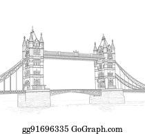 Tower Bridge Clip Art Royalty Free Gograph