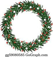 Christmas Wreath Clipart.Christmas Wreath Clip Art Royalty Free Gograph