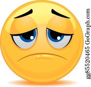 Smiley Question Mark Emoticon Face Clip Art - Disappointed Emoticons  Cliparts Transparent PNG
