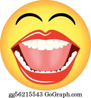 Vector Illustration - Big mouth  Stock Clip Art gg57119328