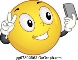 Selfie Clip Art - Royalty Free - GoGraph