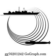 Sonar wave sign. Vector illustration. Radar icon Clipart | k65675854 |  Fotosearch
