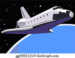 Free Space Shuttle Clipart in AI, SVG, EPS or PSD
