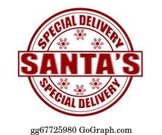 Special Delivery Santa Clip Art Royalty Free Gograph