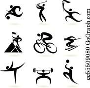 Sport Clip Art Royalty Free Gograph