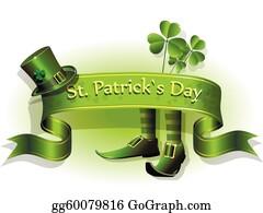 Vector Art Saint Patricks Day Elements Clipart Drawing Gg62799286 Gograph
