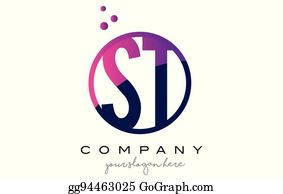 Clip Art Vector Sh S H Circle Letter Logo Design With