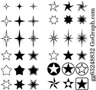 Free Content Star Clip Art - Point - Stars Shapes Transparent PNG