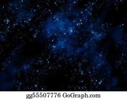 Stars galaxy. Clip art royalty free