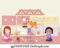 Barbie Cartoon clipart - Barbie, Doll, House, transparent clip art