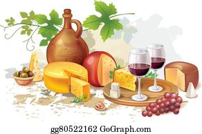 Red Wine Cheese Italian Wine Clip Art - Wine And Cheese Clip Art - Free  Transparent PNG Clipart Images Download