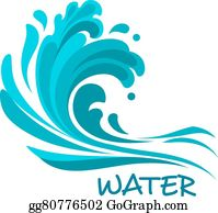 Crashing Waves Clip Art