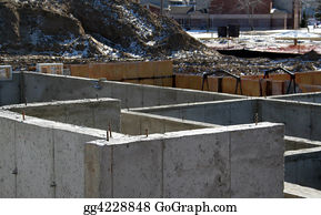 Stock image concerned horse stock photo gg4397931 gograph for Cost of poured concrete foundation walls