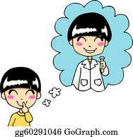 Daydreaming Clipart #1101826 - Illustration by BNP Design Studio