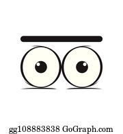Surprised Eyes Clip Art - Royalty Free - GoGraph