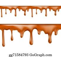 Caramel Sauce Clip Art Royalty Free Gograph