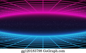 Synthwave Clip Art Royalty Free Gograph