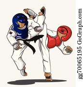 Taekwondo Clip Art Royalty Free Gograph