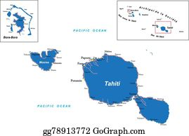 Tahiti Clipart Lizenzfrei Gograph