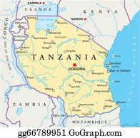 Clip Art Vector Mozambique political map Stock EPS gg71831103