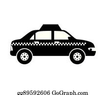 Black Cab Clip Art - Royalty Free - GoGraph