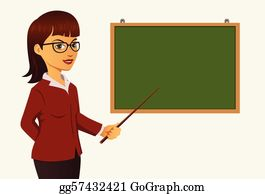 Teacher Transparent Background - Blackboard With Teacher Clipart - Free  Transparent PNG Clipart Images Download
