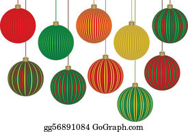 Christmas Ornaments Clip Art Royalty Free Gograph