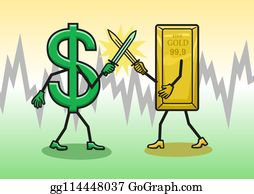 Stock Illustration - Wealth words show prosper prosperity and affluence.  Clipart Drawing gg88097520 - GoGraph
