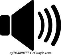 Sound Symbol Clip Art - Royalty Free - GoGraph