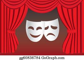 Theatre Clip Art - Royalty Free - GoGraph