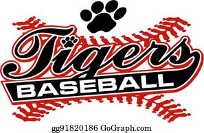 Tiger Holding Baseball Ball Breaking Background Stock Illustration -  Download Image Now - iStock