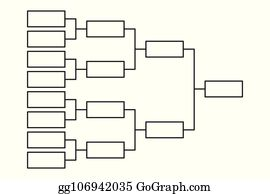 March Madness Bracket Clip Art - Royalty Free - GoGraph