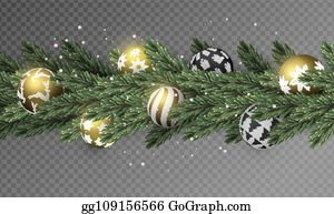 Christmas Garland Cartoon Royalty Free Gograph