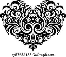 c96749122 Tattoos Clip Art - Royalty Free - GoGraph