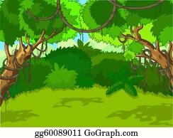 EPS Illustration - Cute baby jungle animals frame. Vector ...