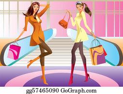 f1d48439683 Clip Art Shopping Mall - Royalty Free - GoGraph