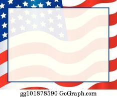 Patriotic Border Clip Art Royalty Free Gograph