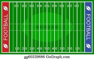 Football Field Clip Art Royalty Free Gograph