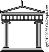 Vector Ancient Greek Architecture